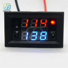 DC 12V Dual Display Time Relay Module Time Delay Relay Mini LED Digital Timer Relay Timing Delay Cycle Time Control Switch