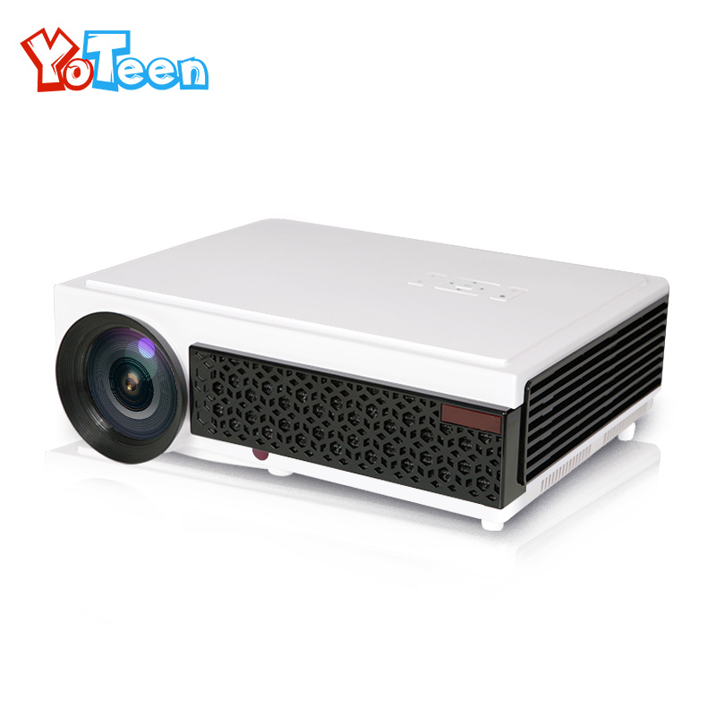 YOTEEN LED96+ BT96 Projector 1280*800 Full HD 1080p Video 3D LED Home Projector 2500lms LED Multimedia Home Theater Projector