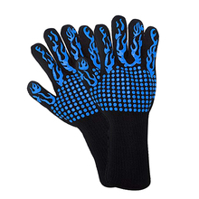 1 Pair Oven Gloves Heat Resistant Thick Silicone Cooking Baking Barbecue Grill Mittens Dish Washing Kitchen Gloves Oven Mitts все цены