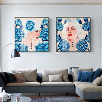 Living Room Decoration Bedroom Dining Room Leisure Portrait Murals Modern Decorative Paintings Unframed Figure Painting