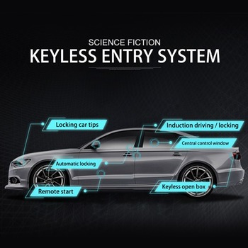 Universal car keyless access system, mobile phone manual control car, original car horn, direction light output