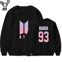 BTS Bangtan Boys Sweatshirt Women Autumn Long Sleeve Love Yourself Casual Hoodie Sweatshirt Women Hoodies Hooded