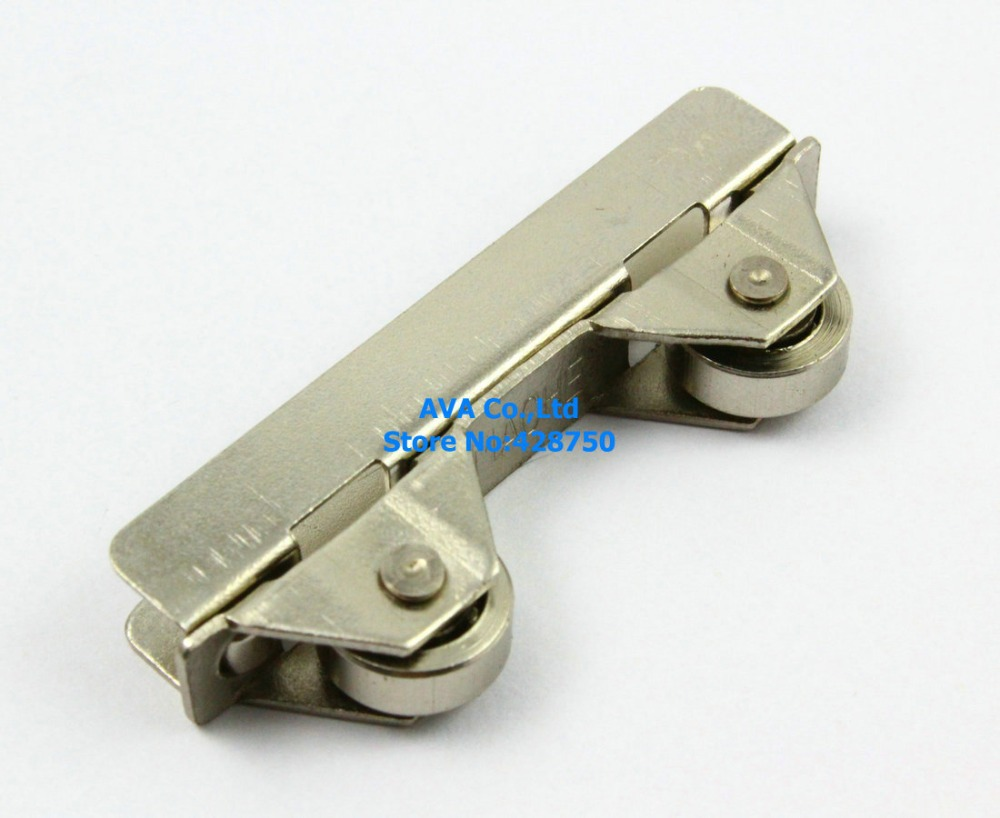 Online Shop 8 Cabinet Glass Sliding Door Roller Clamp Pulley Wheel