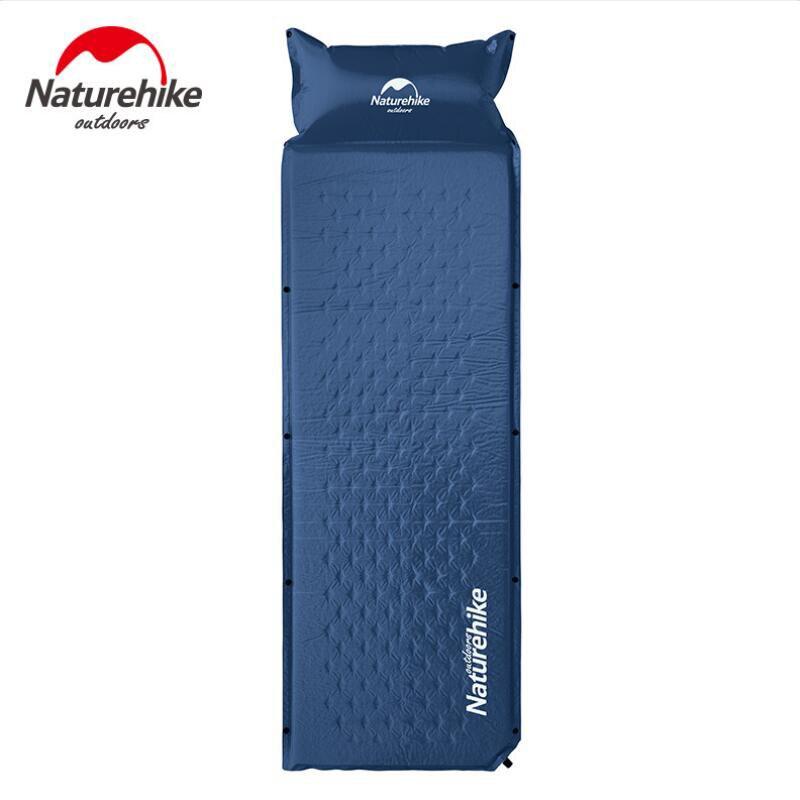 Naturel randonnée Camping extérieur tentes Air matelas auto gonflant tapis pliable AirBed matelas gonflable matelas NH15Q002-D