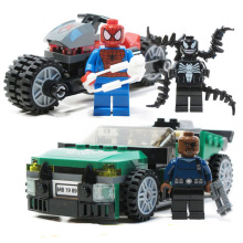 2018 Marvel Super Heros Set 578pcs Spiderman Mech Venom Mecha Building Blocks Compatible Avengers Endgame Figures 76115