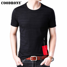 COODRONY Summer Streetwear Fashion Design Tshirt Short Sleeve T Shirt Men O-Neck T-Shirt Soft Cotton Tee Homme S95144