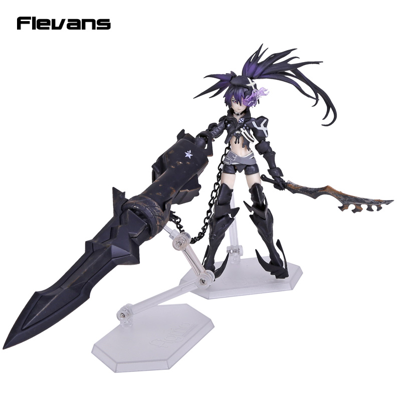 Anime Insane Black Rock Shooter Figma SP-041 PVC Action Figure Collectible Toy 16.5cm neca planet of the apes gorilla soldier pvc action figure collectible toy 8 20cm