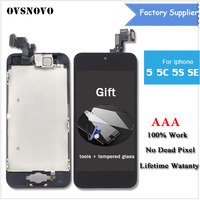 LCD Display For Iphone 5 5s 5c Se Full Assembly Touch Screen Digitizer AAA Quality Front