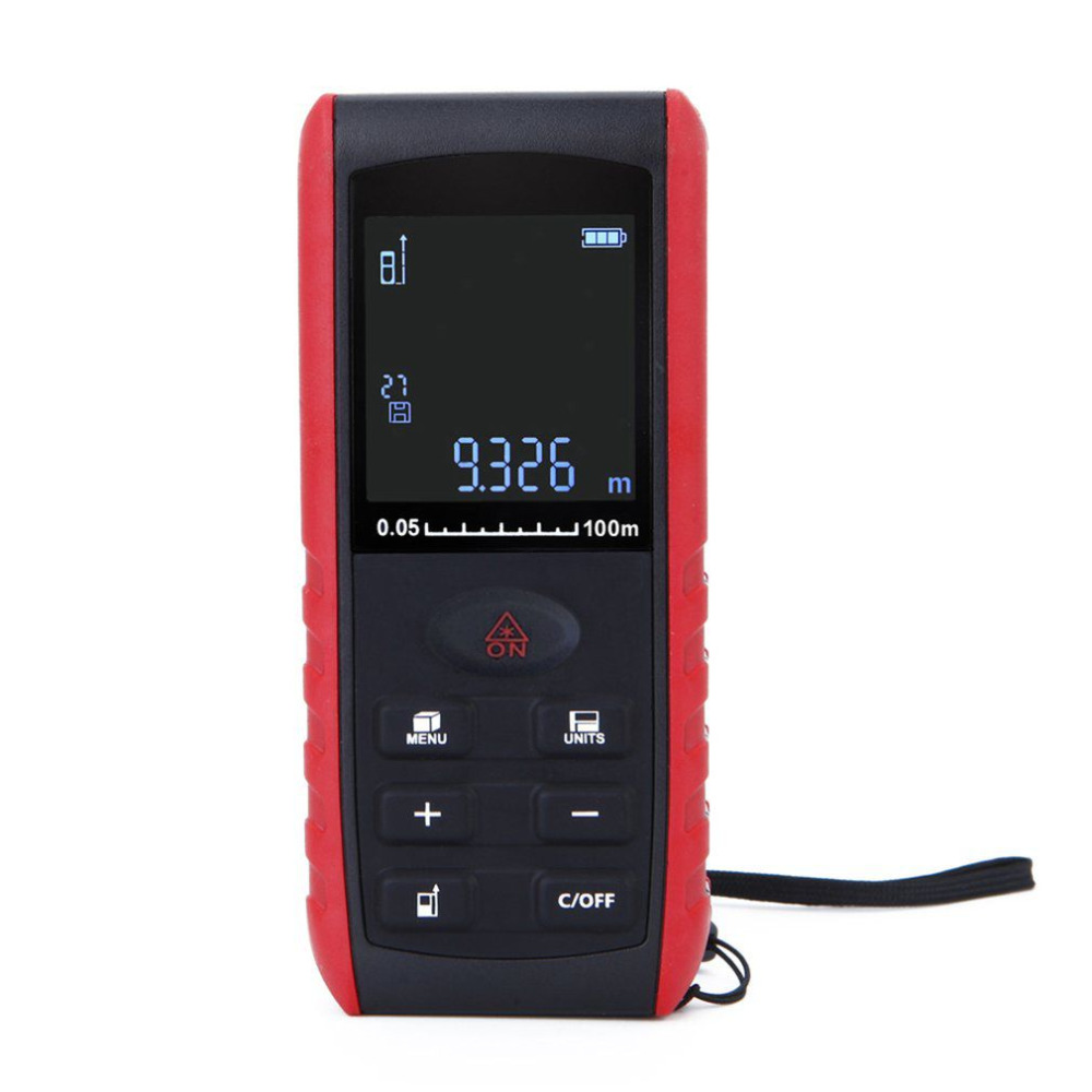 Laser Rangefinder Handheld Digital Distance Meter Laser Range Finder Volume Measurement with Angle Indication 40M 60M 100M handheld laser distance 40 60 80 100m meter range finder area volume measure angle indication high precision laser rangefinder