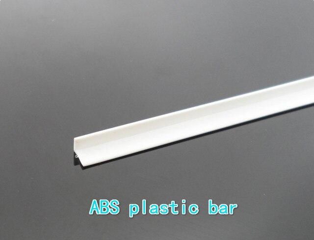 Ángulo ángulo ABS ángulo 4*4mm perfiles de plástico materiales de ...