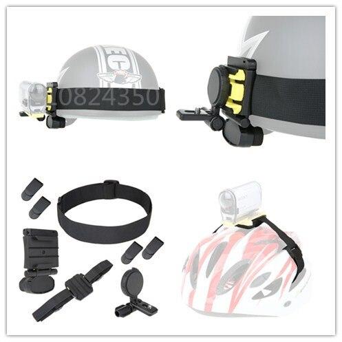 Cabeza del casco Kit de montaje para Sony acción CAM HDR AS15 AS20 AS100V como BLT-UHM1 AS50R AS300R X3000R HDR-AS300 HDR-AS200V HDR-AS100V