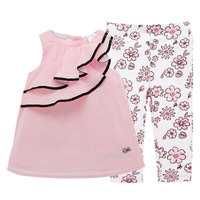 2018 Baby Girl Clothes Sets Baby Infant Outfits Suits 2Pcs Lot Girl Clothes 100 Cotton Newborn