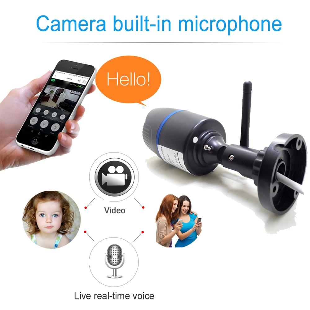 IP Camera Wifi 720P 960P 1080P HD Wireless Cctv Security Indoor Outdoor Waterproof Audio IPCam Infrared Home Surveillance Camera