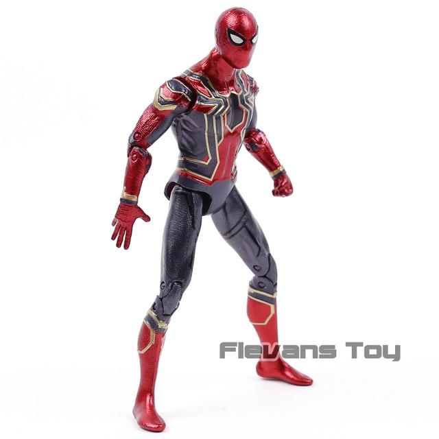 Marvel Legends Series Avengers Infinity War 6 Inch Besi Laba-laba PVC Action Figure Collectible Model Mainan
