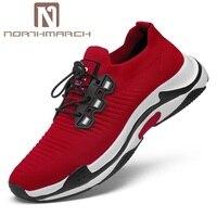 Northmarch Повседневная Мужская обувь Горячая Летняя распродажа дышащая обувь Для мужчин классические кроссовки Для мужчин Tenis masculino adulto Zapatillas
