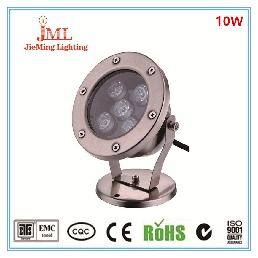 High power 10w ce ul passed RF remote waterproof ip68 5*2w led swimming pool light