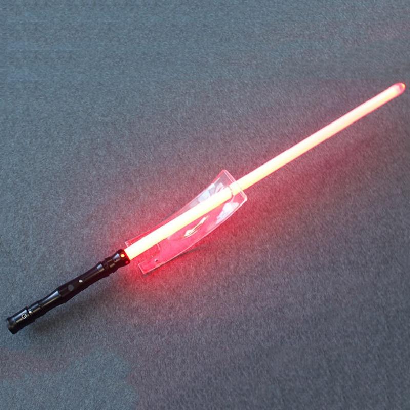 Cosplay Jedi Lightsaber Plus LED Light Jedi Sith Luke Force Light Saber Sound Luminous Toys Metal Handle Sword Kids Toys Gift