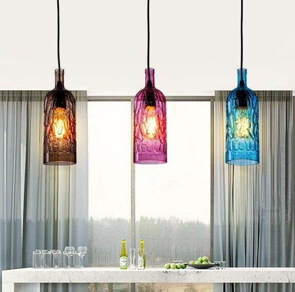 Botellas de vidrio de estilo desván Droplight moderno Edison ...