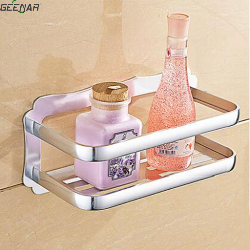 Free shipping,aluminum,Bathroom rack, wall hanging bathroom, toilet shelf, single bath,bathroom table storage rack non dril wall a1 hotel bathroom washbasin wall hanging solid thickening rack space aluminum wall hanging storage rack wx7201648