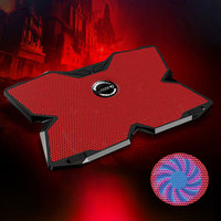 New Cooling Pad with Four 1200RPM 140mm Fans for 15.6 to 17 Inch Notebook Laptops JLRJ88
