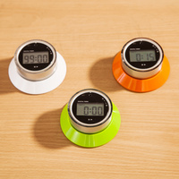 Refrigerator magnet digital lcd kitchen Countdown timer 15s to 99 minutes Electrical Clock Alarm for kitchen accessories