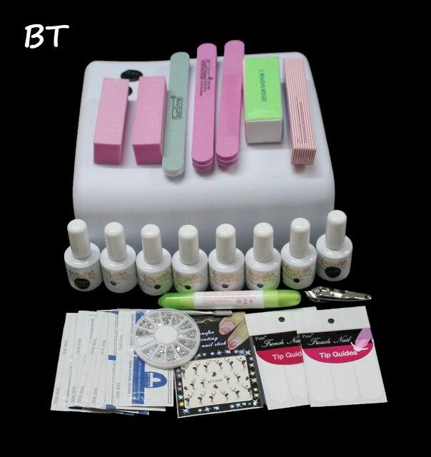 gelishgel Kits nuevo envío esmalte de uñas 36 W secador de la ...