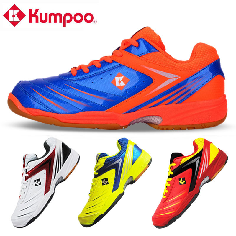 Kumpoo Sneakers Badminton-Shoes Professional Woman Male Light And KH-15 L723OLB Wear-Resisting