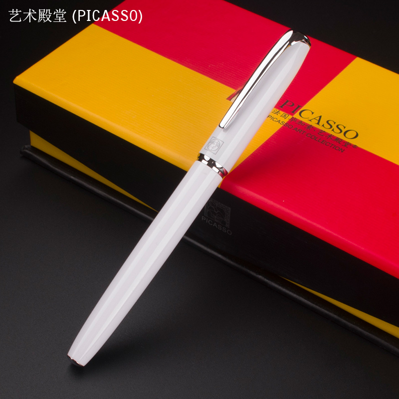 PICASSO Art Palace 916 All Business office 0.38mm Nib Fountain Pen New art palace 966 picasso colorful pens business office financial fountain pen ef red gift pen