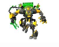 Decool xây dựng mô hình kits tương thích với lego hero nhà máy 3d khối đồ chơi giáo dục sở thích cho trẻ em