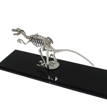 Velociraptor 3D Steel Metal Joint Mobility Miniature Model Kits Puzzle Toys Children Boy Splicing Hobby Building