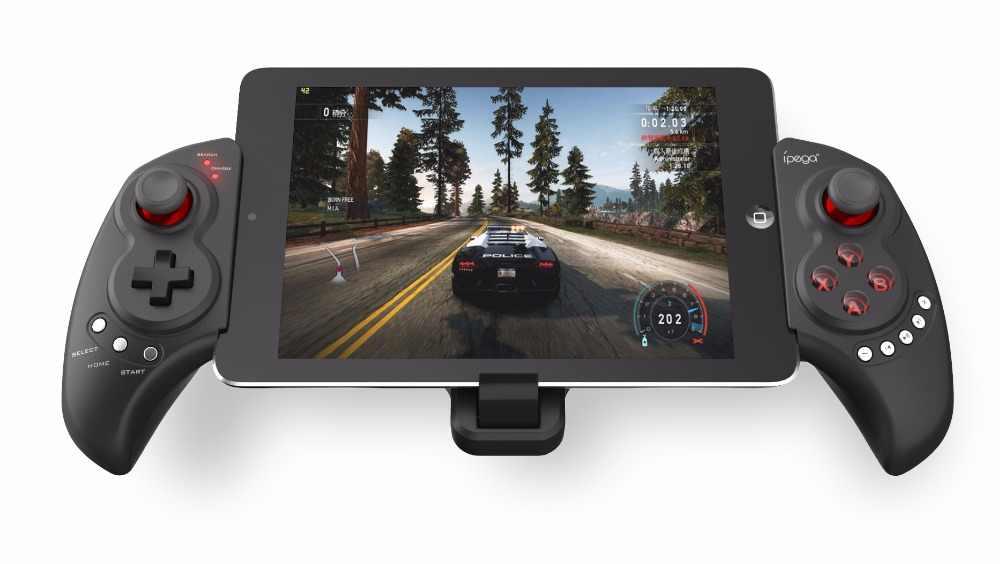 Moveski PG-9023 Телескопический беспроводной Bluetooth игровой контроллер геймпад для IOS IPhone IPod IPad samsung htc Moto Android PC