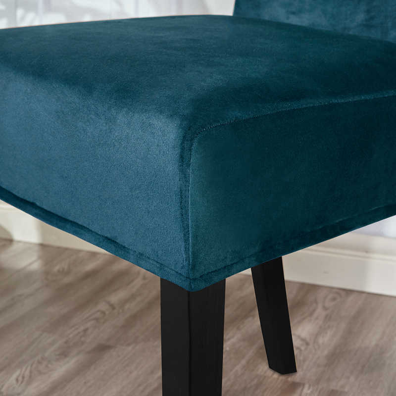 Dreamworld 6 шт. сплошной цвет стрейч чехлы на стулья для дома спандекс бархат чехлы на стулья для столовой гладкокрашеные черные чехлы на стулья