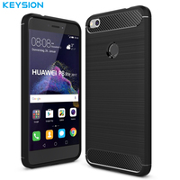 KEYSION Case For Funda Huawei P8 Lite 2017 Cover For Huawei P9 Lite 2017 Case Silicone