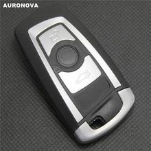 AURONOVA for BMW 3 5 7 Series X3 X5 X6 E90 320 520 730 Smart Key 3 Buttons Replace Car Key Shell цена