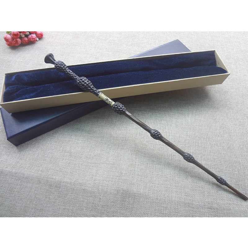 New original version quality metal core deluxe cosplay for Dumbledore original wand