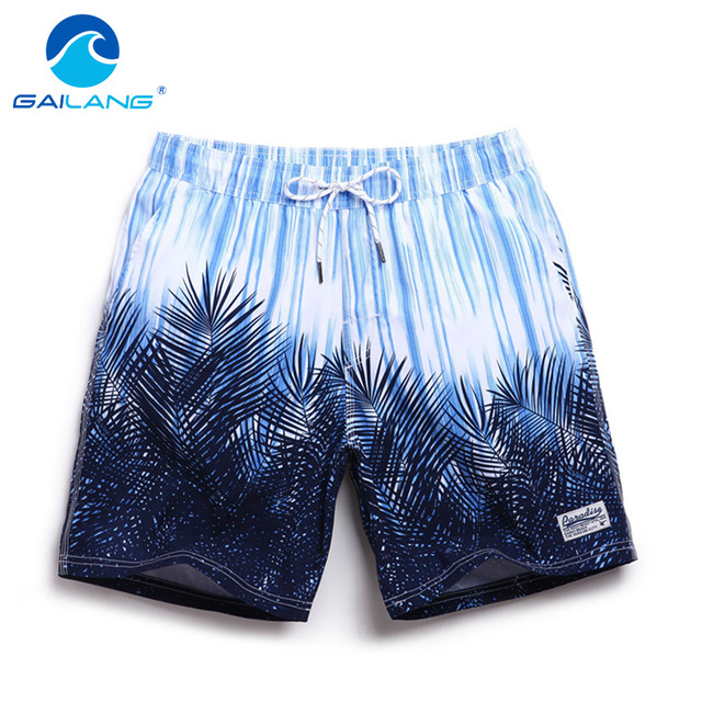 Gailang Brand New mens beach board shorts quick dry fashion leisure casual active shorts sea board boardshorts big size XXXL