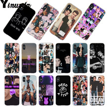 Yinuoda For iphone 7 6 X Case dolan twins Coque Phone for iPhone 6s 7plus 8 8Plus 4S 5 5S 5C XR XS MAX