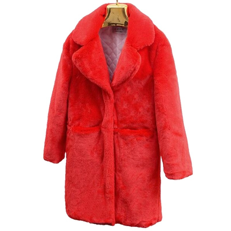 2019 Fashion Women Fur coat Imitation lambs wool Winter coat New product Thickening Keep warm Winter jacket Quality assurance