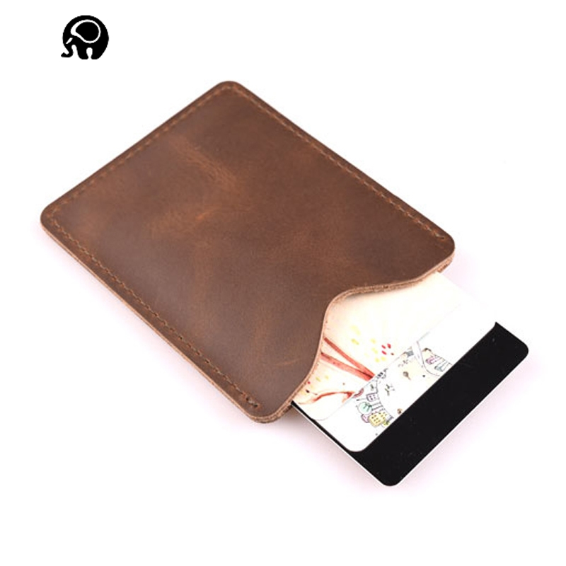 Buy leather personalized business card holder and get free shipping ...
