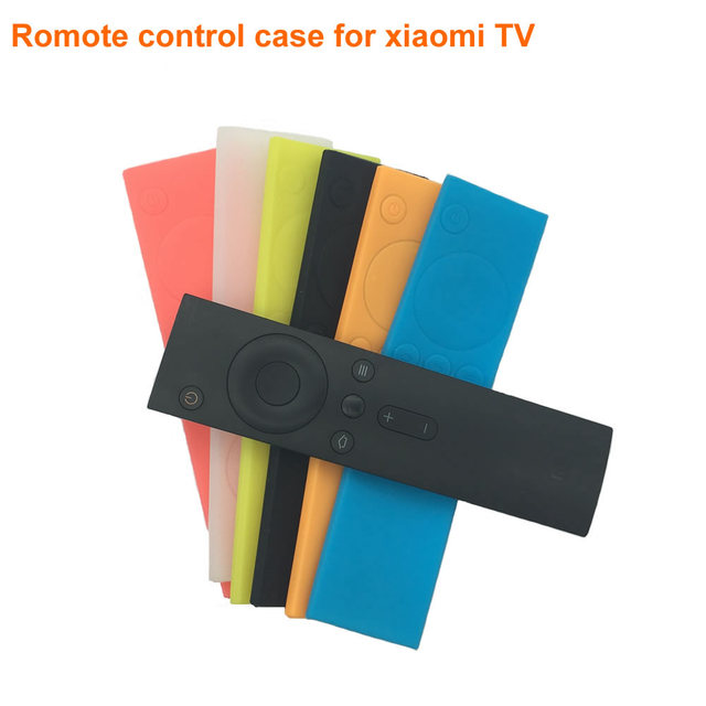 timeless design 2fa83 85b53 US $1.34 20% OFF|Xiaomi Remote Cases Soft Silicone Protective Case for Mi  Remote Colorful Rubber Cover Case for Xiaomi Remote Control Mi TV Box-in ...