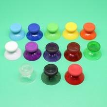 100pcs 14 צבע צבעוני 3D אנלוגי אגודל מקלות עבור XBOX אחת בקר אנלוגי בקר כובעי פטריות