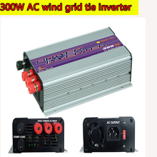 300W Grid Tie Inverter Pure Sine Wave MPPT Inverter for 3 Phase AC Output Wind Turbines with Built-in Dump Load Controller NEW