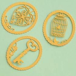 1 шт. Мультяшные животные кружевная Закладка милые канцелярские подарки металлический закладки для книги держатель школьные
