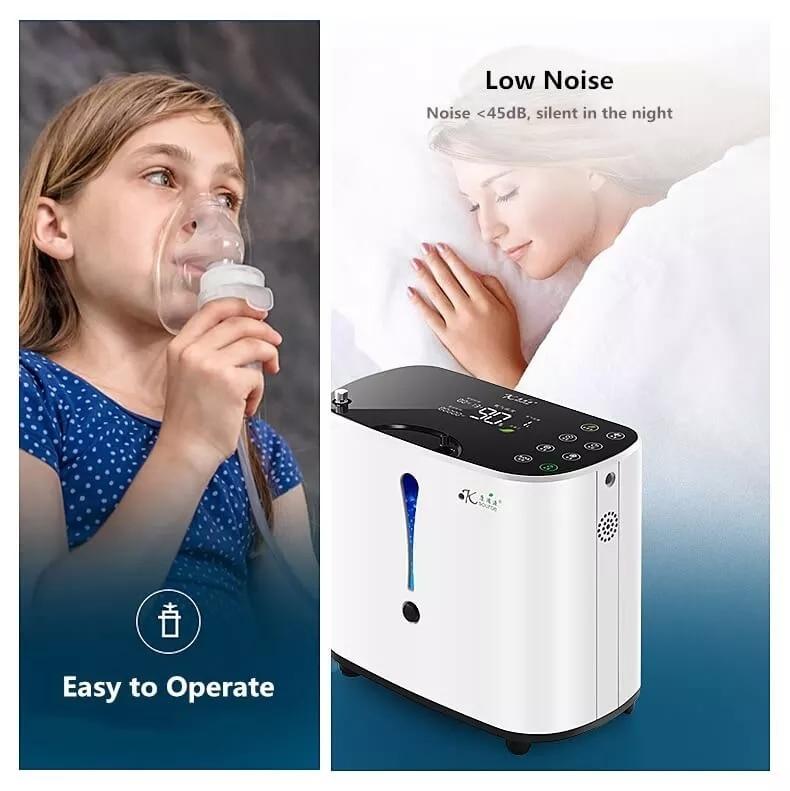 Pelvifine AR кислородный концентратор 1-6л/мин регулируемая портативная кислородная машина для домашнего путешествия использования оксигено мед...