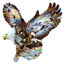 Flying Eagles 5d Diy Diamond Painting Full Square Cross Stitch Embroidery Kits Mosaic Rhinestones Needlework fullcang diy 5pcs full square diamond embroidery horror movie characters diamond painting cross stitch 5d mosaic kits d951