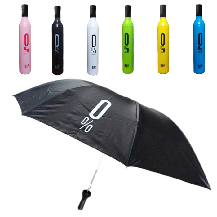 New Qualified Bottle Umbrella Fashion Design Sun Rain Umbrella Creative Umbrella Levert Dropship dig6825
