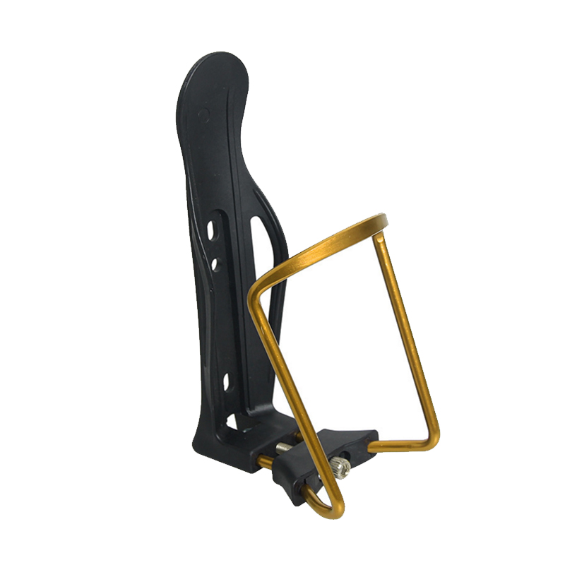LOCLE Bicycle Bottle <font><b>Holder</b></font> Aluminum Alloy + PC 5 Colors Mountain <font><b>Bike</b></font> Bottle Cage Bracket Cycling <font><b>Drink</b></font> Water Bottle <font><b>Holder</b></font> image