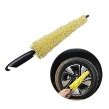 Колеса Обода шин стиральная щетка пластиковая ручка автомобиля Чистящая Щетка для машины колеса мытья Щетка авто скраб щетка губки для мытья автомобиля инструменты