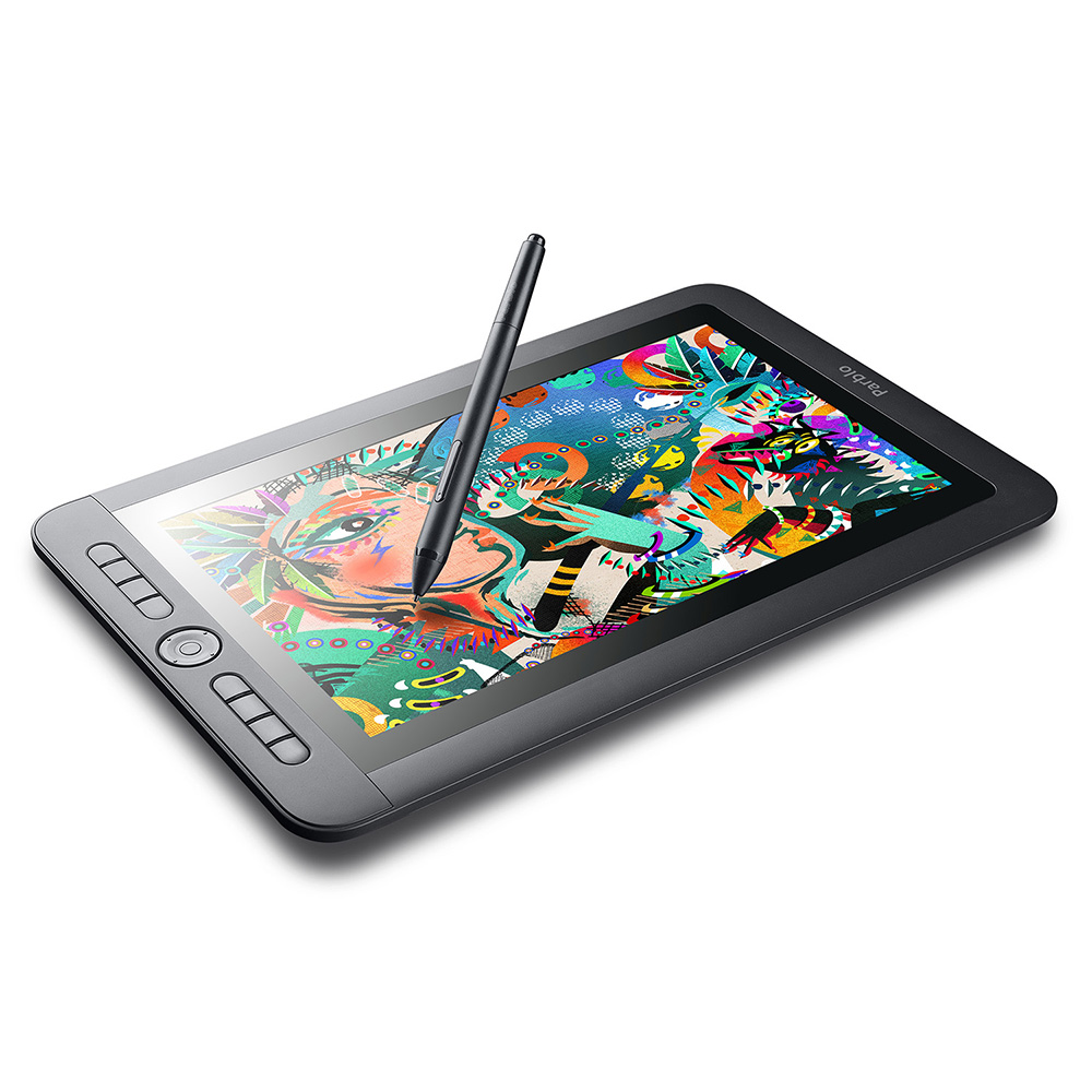 Parblo Coast13 13.3 IPS 1920x1080 Graphic Tablet Drawing Monitor 5080 LPI with Battery-free Passive Pen +USB Type C Cable