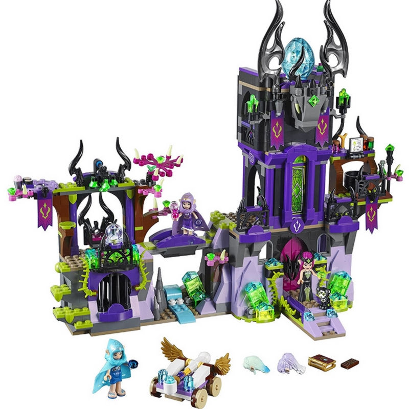 BELA Elves Ragana's Magic Shadow Castle Building Blocks Sets Bricks Classic For Girl Friends Kids Model Toys Compatible Legoings цена